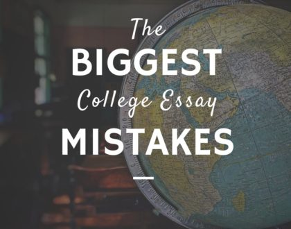 mistakes to avoid in essays