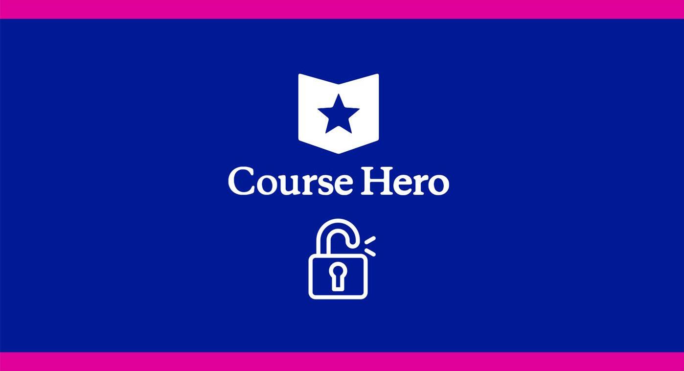 Unblur Course Hero Document