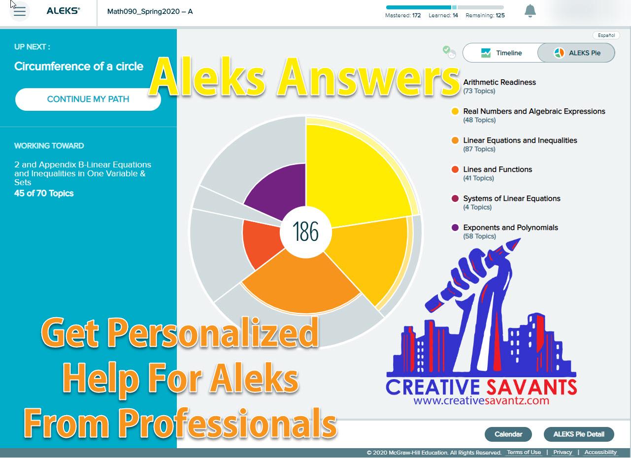 get aleks answers