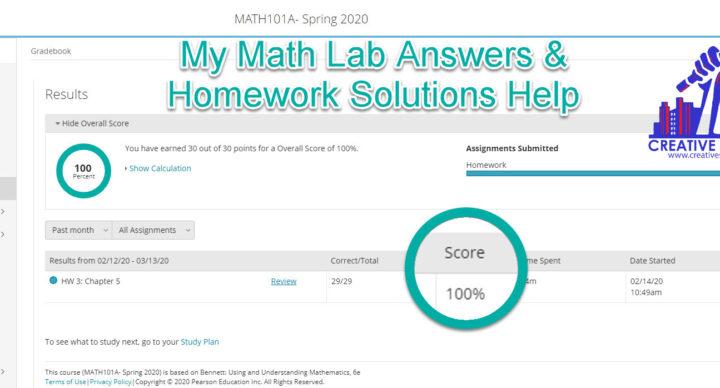 mymathlab answers homework solutions help