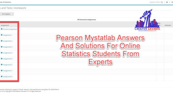 pearson mystatlab answers