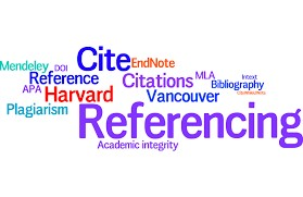 work on your referencing