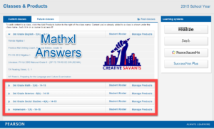 mathxl answers