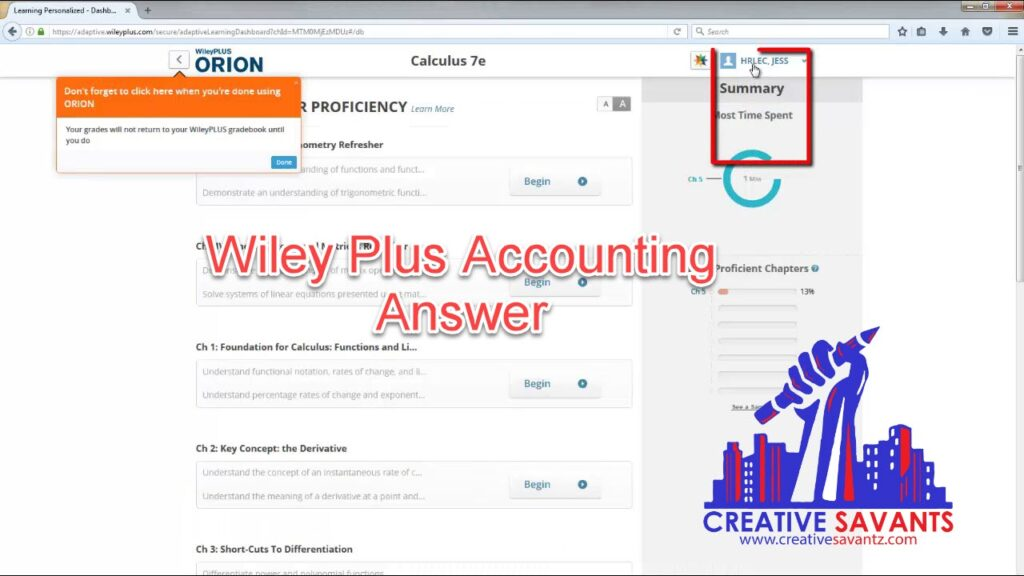 wiley plus accounting answer