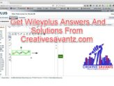 wileyplus answers