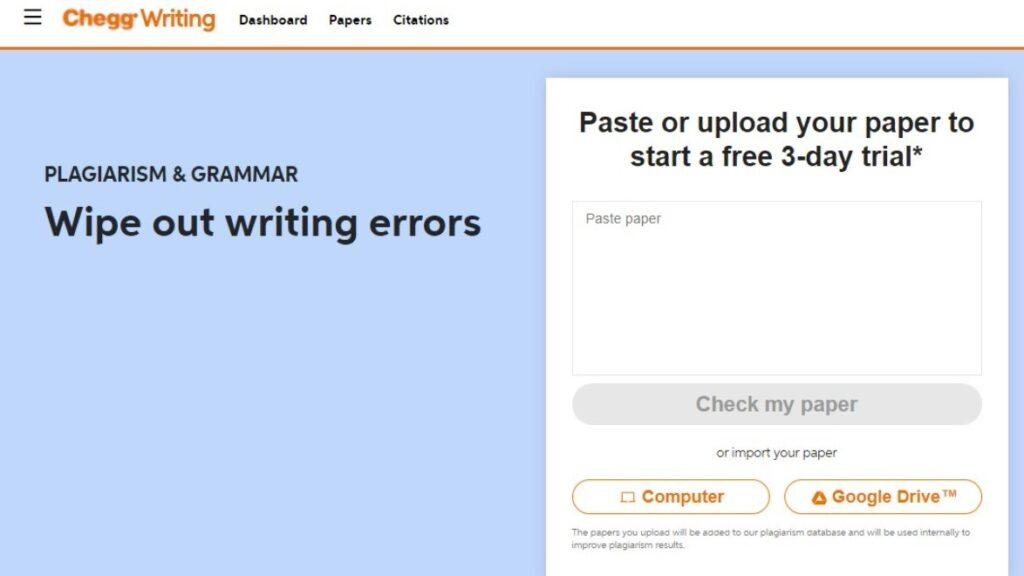 chegg plagiarism checker