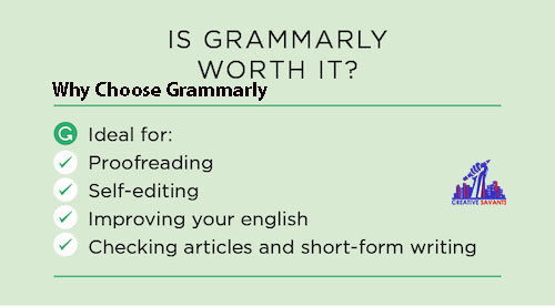 Why choose grammarly